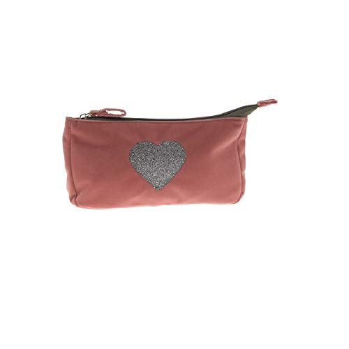 Incidence, TROUSSE MAQUILLAGE VELOURS - Coeur - rose