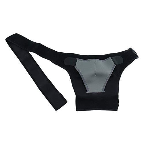 Gymsport Care Schulterstütze Rückenbandage, Bandage, Schwarz, für Herren und Damen -