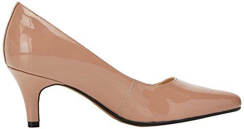 Clarks Isidora Faye, Chaussures À Talon Femme Beige (brevet Nude)