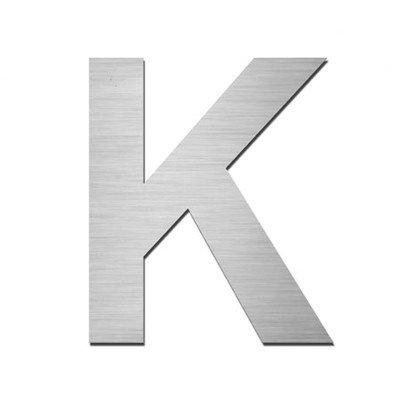 Nanook numéro de maison autocollant k en acier inoxydable v4A