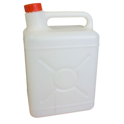 31VgG25PH L. SS500  - Plascon J05.0 Water Container with Screw Cap, Off-White, 5 Litres