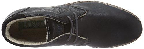 Bugatti F63541 Herren Kurzschaft Stiefel Schwarz (schwarz 100)