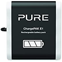 Genuine Pure Accessory - ChargePAK E1 Rechargeable Battery Pack for Pure Evoke-1S, Evoke-2S, Evoke Flow, Evoke Mio, One Flow and Sensia Radios