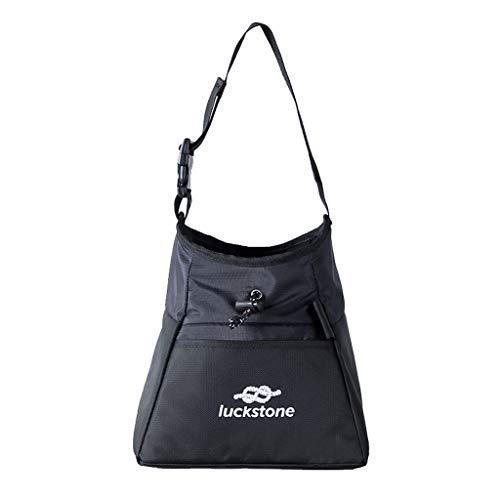 Hengzi Outdoor Rock Climbing Chalk Bag Waterproof Polyester Magnesium Powder Pouch (B) -