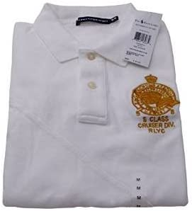 Polo Ralph Lauren Sailor polo Placket M color blanco