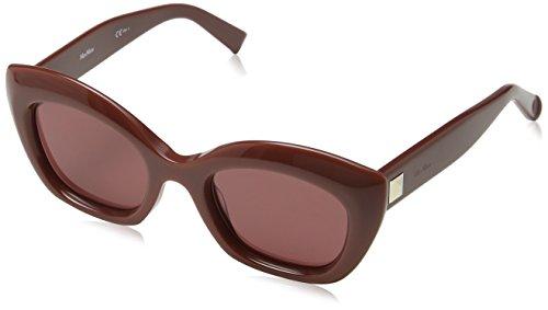 Max Mara Damen MM PRISM VII 4S 2LF 50 Sonnenbrille, Grau (Trbrckprlcor Pink)