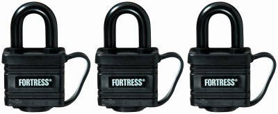 Master Lock Covered Laminated Weatherproof Padlock For Water Resistance, 1-9/16