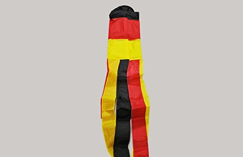 The Flag Wholesaler b037462 Germany Windsack, mehrfarbig, 24 x 1 x 23 cm
