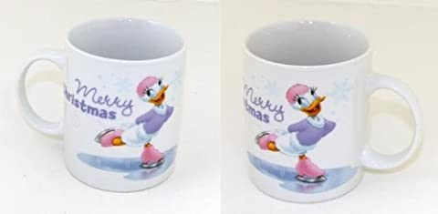 Motifs de noël disney mug donald duck daisy mickey mouse minnie mouse gobelet neuf, 1x Daisy Tasse