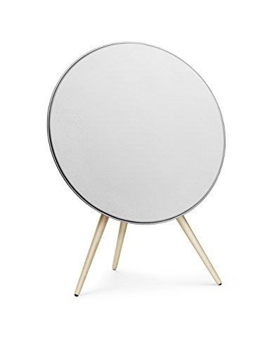 B&O PLAY by Bang and Olufsen A9 - Altavoz, blanco con patas de arce