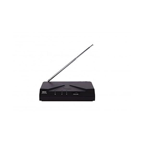 PROEL WM101H radiomicrofono UHF wireless con archetto per canto, sport fitness, karaoke e presentazioni