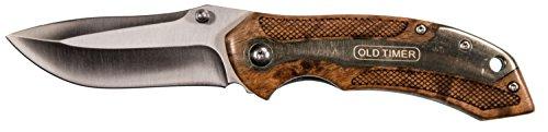 Schrade SCH1084275 Couteau Pliant Mixte Adulte, Marron