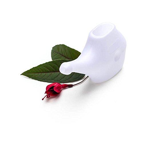 Neti pot - plastic, White