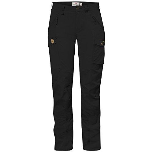 Fjällräven Damen NIKKA Curved Trouser Pantaloni Lunghi Black