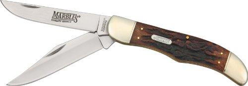 Marbles - Taschenmesser - Folding Hunter - Klinge: Rostfreie Clip-Point und Skinner Klingen -