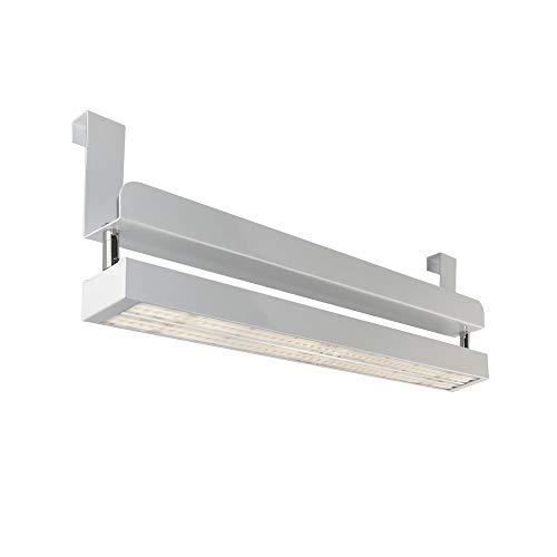 CLE Linear LED PowerStripe Hang Systemleuchten mit Bügel - 4200lm 34W 3000K Weiß