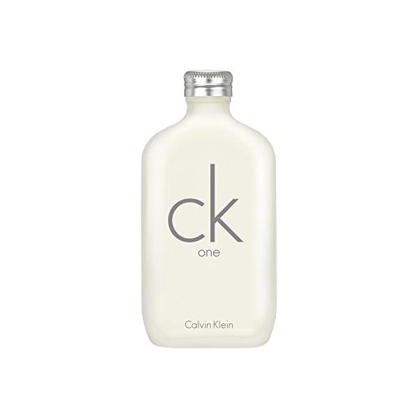 Calvin Klein CK ONE, Agua de tocador para hombres – 200 ml.