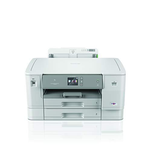 Brother HLJ6000DW Stampante Inkjet A3 a Colori con NFC, Rete Cablata e Wi-Fi, Duplex, ADF da 50 Fogli e Display Touchscreen a Colori da 9.3 cm