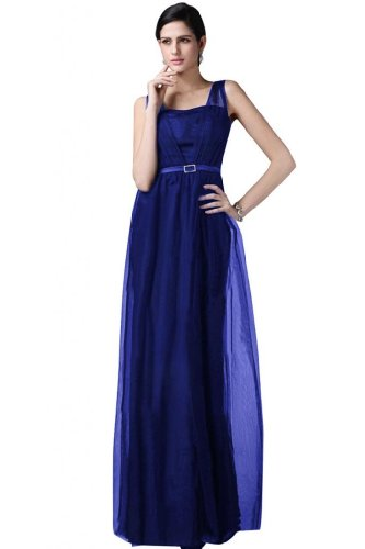 Sunvary -  Vestito  - Donna Royal Blue