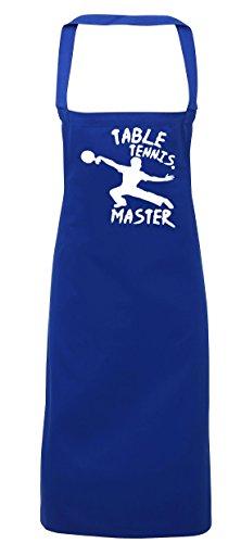 hippowarehouse Tisch Tennis Master Schürze Küche Kochen Malerei DIY Einheitsgröße Erwachsene, königsblau, (Erwachsene Schuhe Schiedsrichter)
