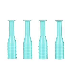 Kontaktlinsenentferner RGP Kolbenhalter Einlage Entferner für weiche harte Linsen (4 Stück)