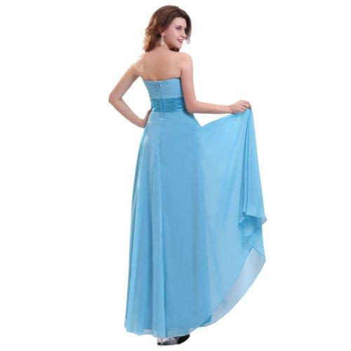 Lemandy robe de soirée sirène organza traîne moyenne sans bretelles rubis