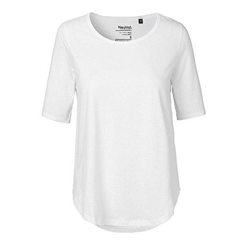 Neutral - Damen Halbarm Shirt / White, XXL