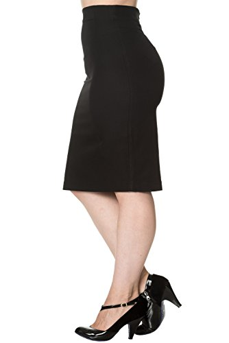 Banned - Jupe - Femme Noir
