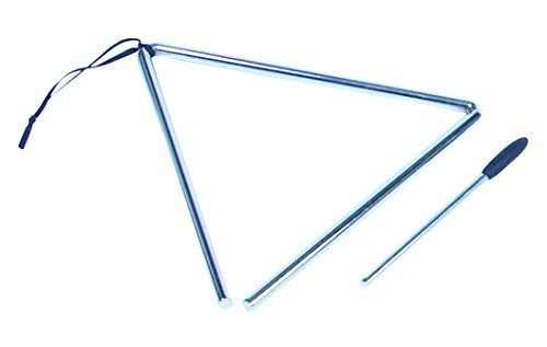 PERFORMANCE PERCUSSION PP2010 - TRIANGULO DE 8 (20 CM)  COLOR PLATEADO
