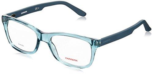 Preisvergleich Produktbild Carrera - CA 6653, Rechteckig, Acetat, Herrenbrillen, PETROLEUM TEAL(TPM), 54/18/145