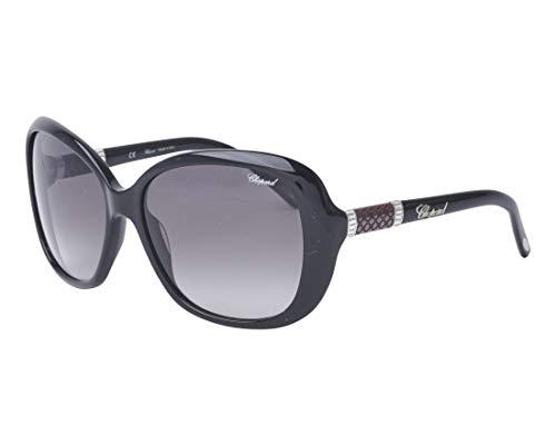 Chopard Sonnenbrillen (SCH-149-S 700K) glänzend schwarz - silber - grau verlaufend