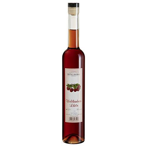 """Wald-Himbeerlikör""""Höllberg"""" 30% vol, (1 x 0.5 Liter) fruchtiger Likör ohne Aromastoffe"""