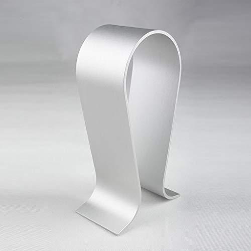 LJXWH Aluminium-Kopfhörerhalter Spiel Headphone Stand/Hack, extra dick (Farbe : Silber)