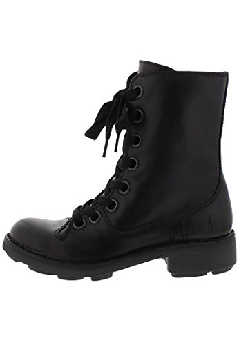 Fly London Naia, Damen Kurzschaft Stiefel BLACK-2
