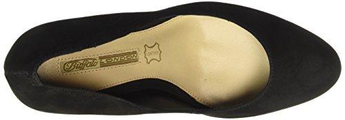 Buffalo London - Zs 6112-15 Nobuck, Scarpe col tacco Donna Nero (nero (black 01))