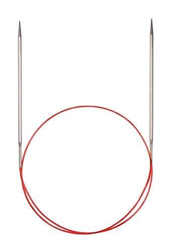 Addi 775-7 Agujas de Punto Redondas Lace, niquelado 80 cm, 2,5 mm