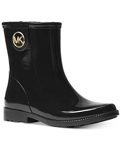 Michael Michael Kors Benji Rain Boots Michael Kors Metallic-heels