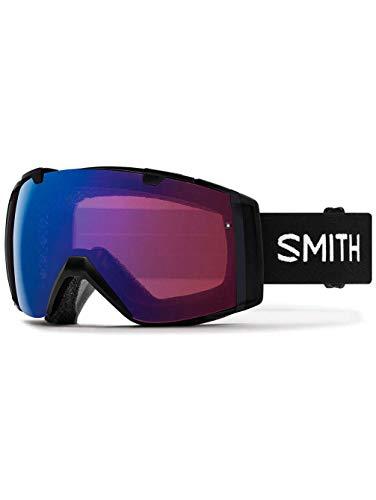 Smith optics i/o, maschera sci unisex – adulto, nero/rose flash, m