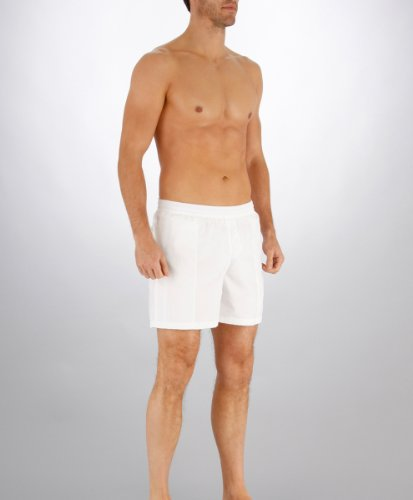 Speedo Scope Short de bain Homme Scope Blanc/Noir