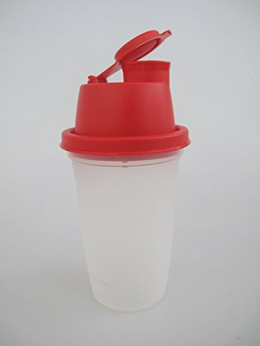 TUPPERWARE Backen Mix-Fix Mini 250 ml rot Frische-Mix Mini-Shaker Shaky