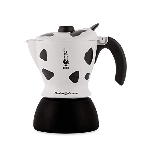 Bialetti Mukka Express 0103238 Preparation Cappucino ou Cafe au lait Coloris Vache