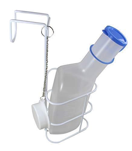 Urinflasche + Betthalter PP Qualität Urinflaschen von Medi-Inn