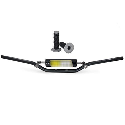 AnXin Barres de Guidon pour Harley Sportster XL 883 1200 Dyna Bobber Custom Chopper Softail Euro 2,5 cm