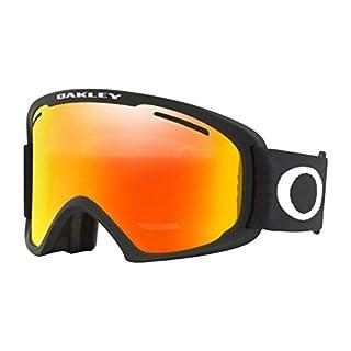 Oakley Uni Skibrille O2 XL Sportbrille Schwarz (Matte Black/Fireiridium) 99