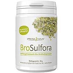 effective nature Brokkolisprossen Bio - 30g - Rohkost-Qualität - Ideale Quelle für Sulforaphan