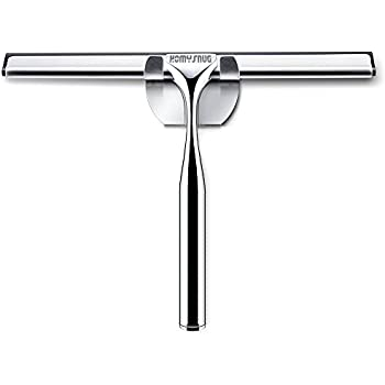 Marvelous HomySnug Stainless Steel Bathroom Squeegee   Shower Glass Wiper Window  Squeegee For Mirror With Holder