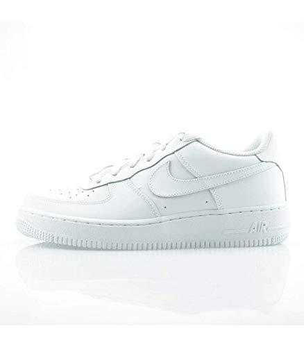 huge selection of 1ecb2 b7079 Nike Air Force 1 (GS) Zapatillas de baloncesto, Niños, Blanco (White