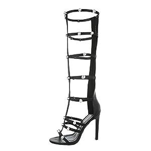 Ital-Design Damenschuhe Sandalen & Sandaletten High Heel Sandaletten