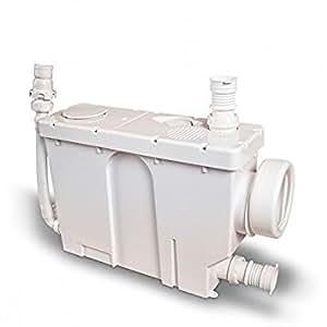 Jimten Ciclon CS t-604cs–Broyeur sanitaire pour encastrement (jusqu'à 6m–4appareils, moderne)