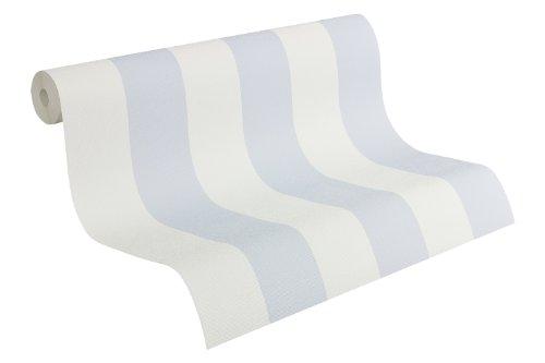 as-creation-919236-carta-da-parati-a-righe-colore-bianco-blu-pastello
